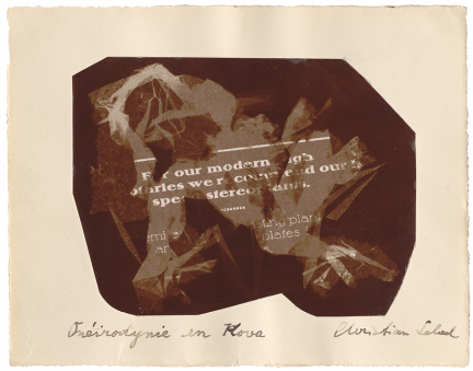 Christian Schad, Onéirodynie en Kova, 1919